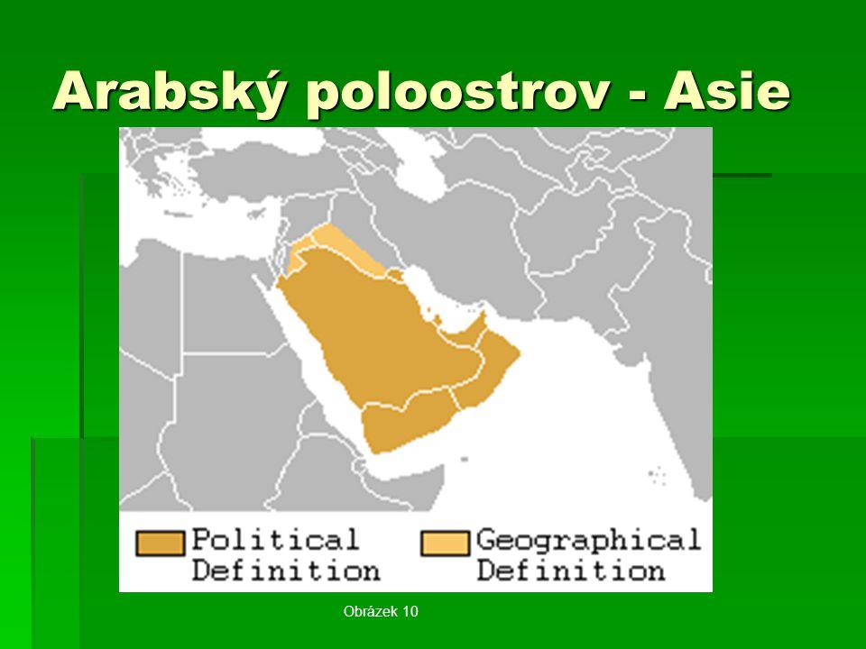 Arabský poloostrov - Asie