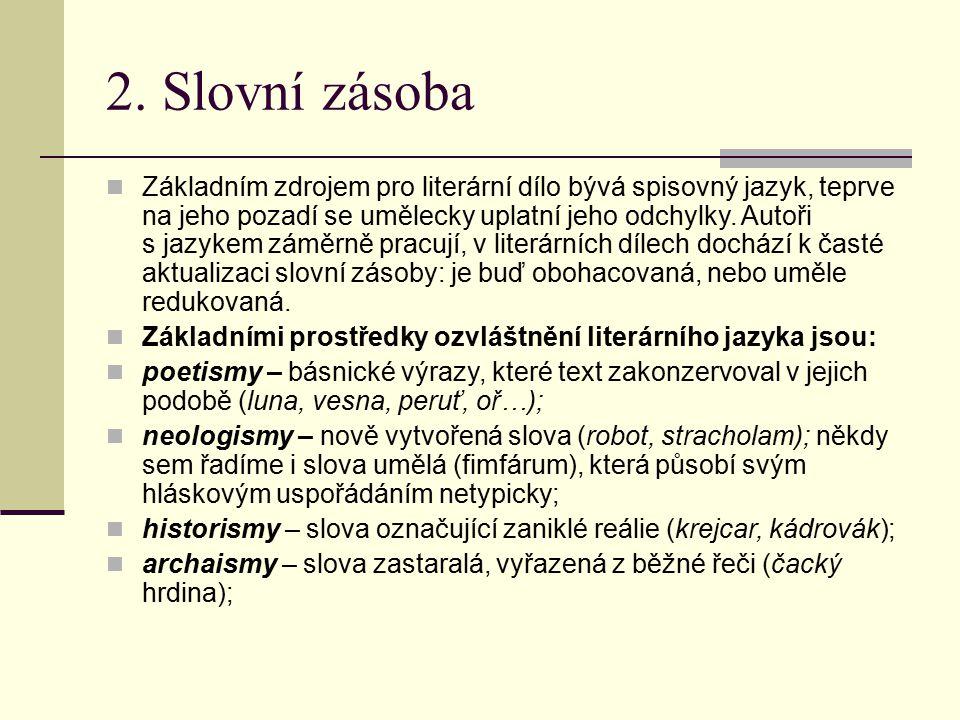 2. Slovní zásoba