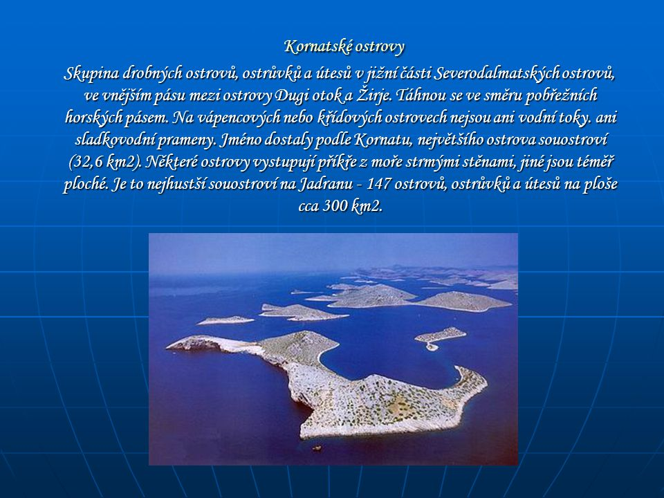 Kornatské ostrovy