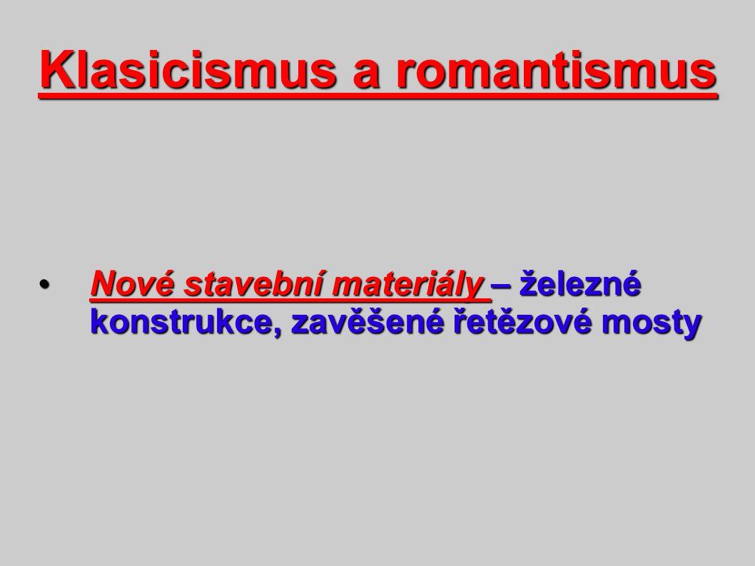 Klasicismus a romantismus