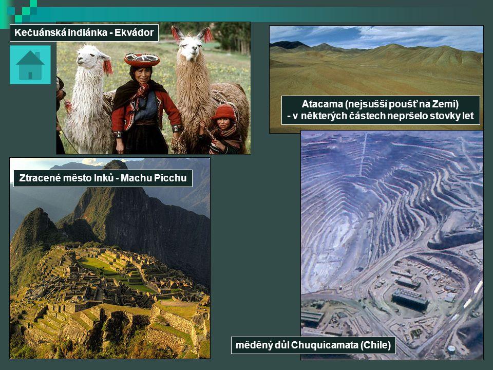 Ztracené město Inků - Machu Picchu