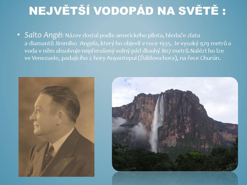 Největší Vodopád na světě :