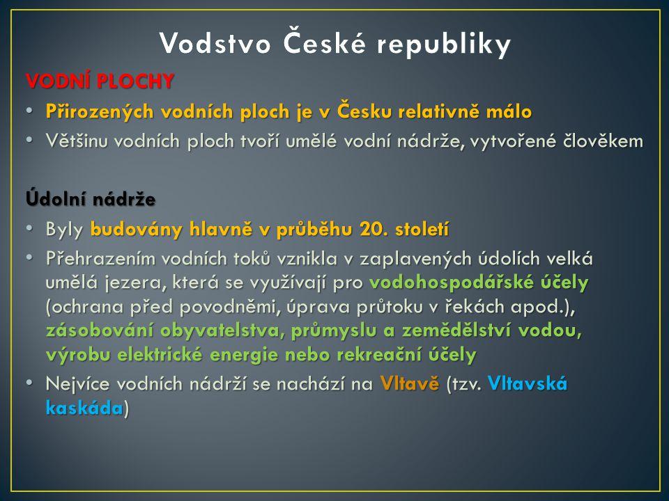 Vodstvo České republiky