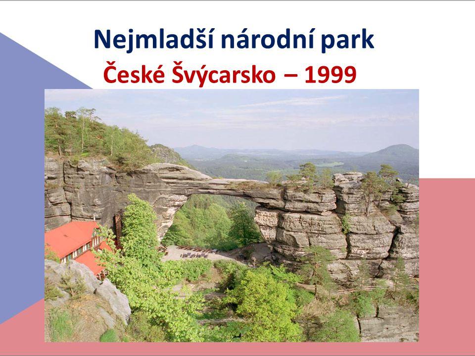 Nejmladší národní park