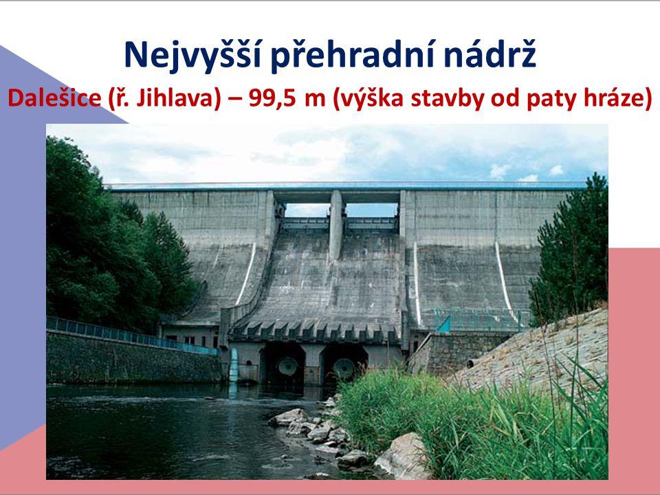 Nejvyšší přehradní nádrž