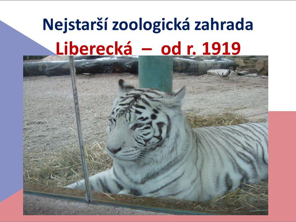 Nejstarší zoologická zahrada