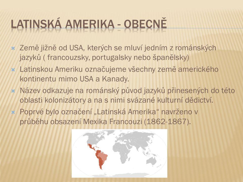 Latinská amerika - obecně