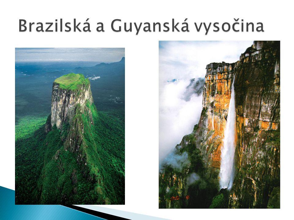 Brazilská a Guyanská vysočina