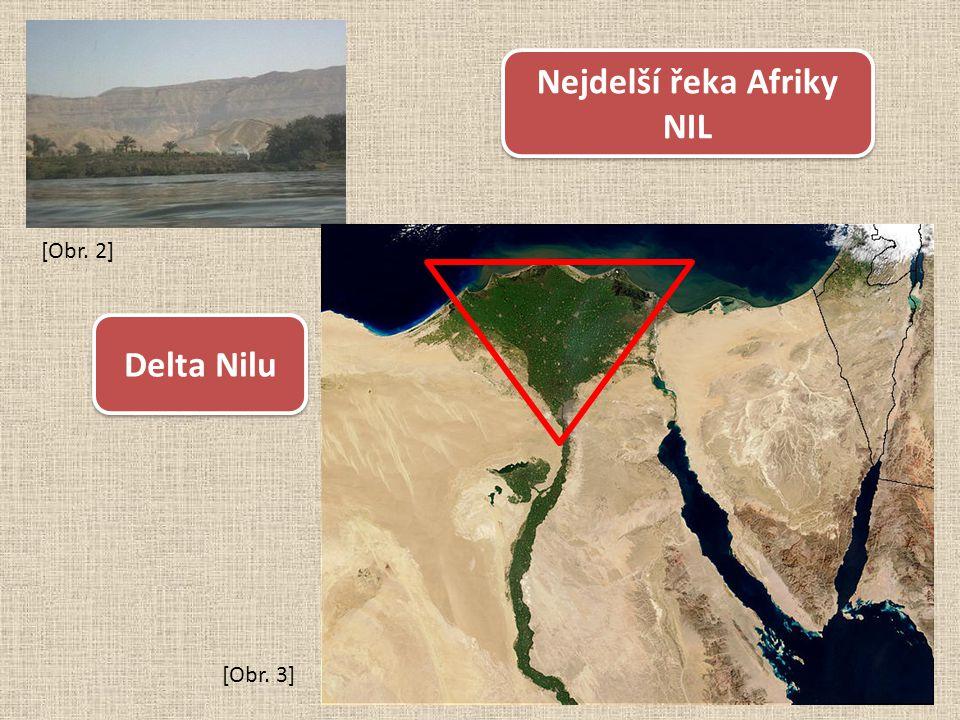 Nejdelší řeka Afriky NIL