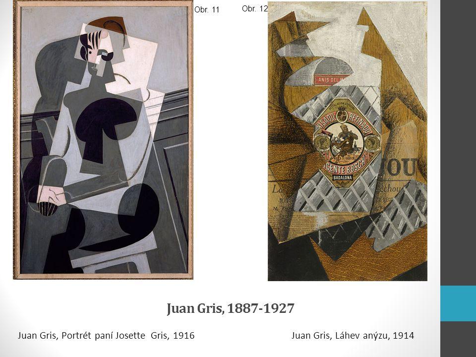 Juan Gris, 1887-1927 Juan Gris, Portrét paní Josette Gris, 1916