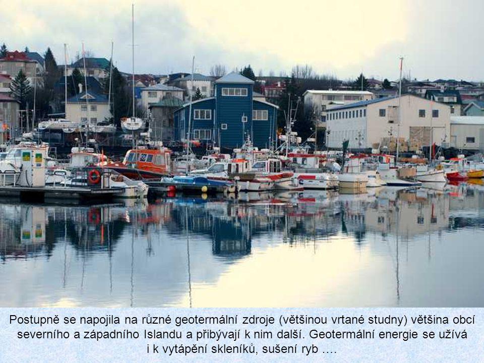 Postupně se napojila na různé geotermální zdroje (většinou vrtané studny) většina obcí severního a západního Islandu a přibývají k nim další.