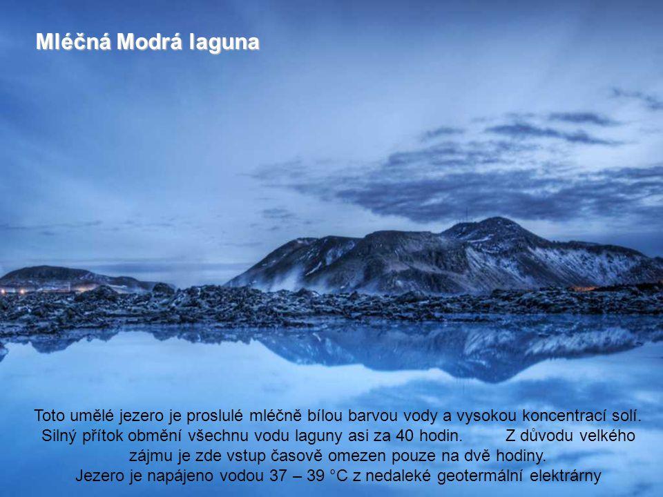 Mléčná Modrá laguna