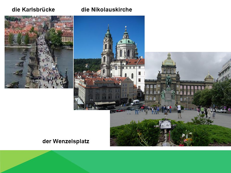 die Karlsbrücke die Nikolauskirche