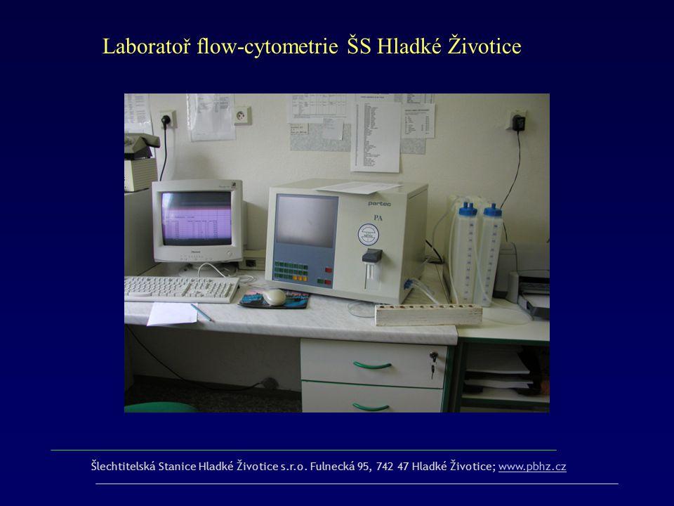 Laboratoř flow-cytometrie ŠS Hladké Životice
