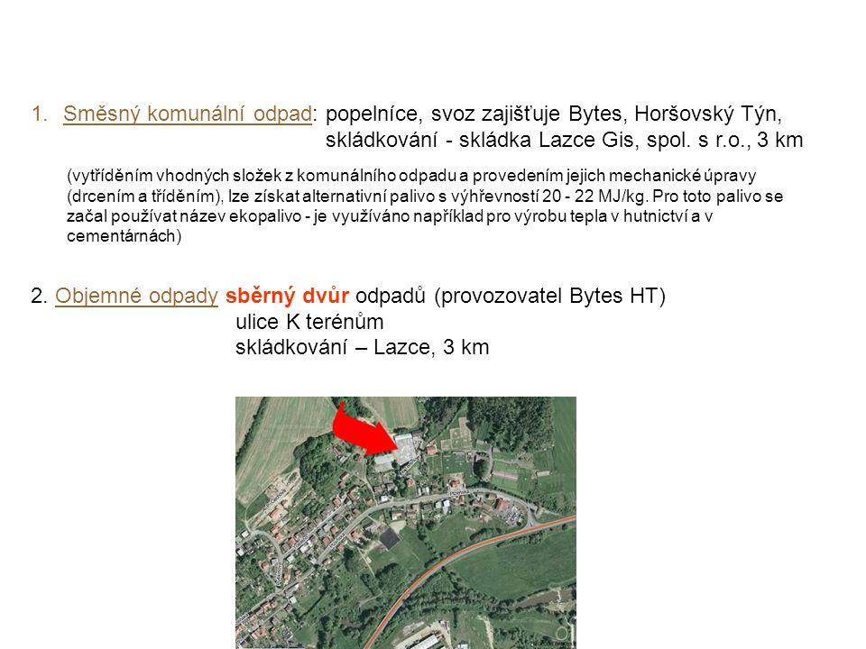 skládkování - skládka Lazce Gis, spol. s r.o., 3 km