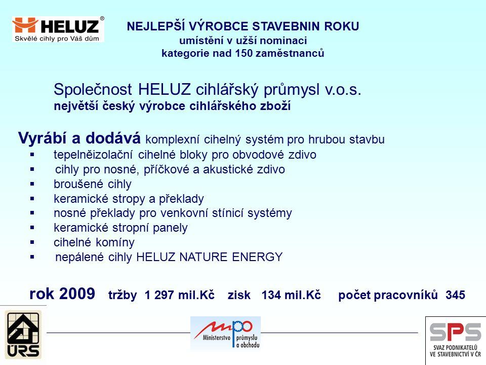Společnost HELUZ cihlářský průmysl v.o.s.