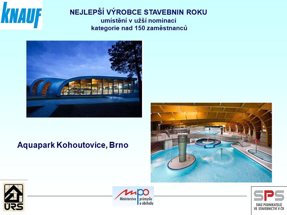 Aquapark Kohoutovice, Brno