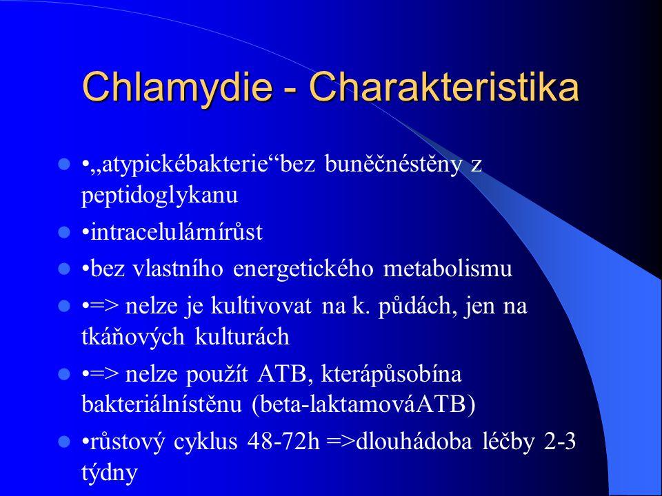 Chlamydie - Charakteristika