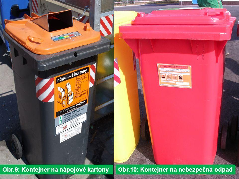 Obr.9: Kontejner na nápojové kartony