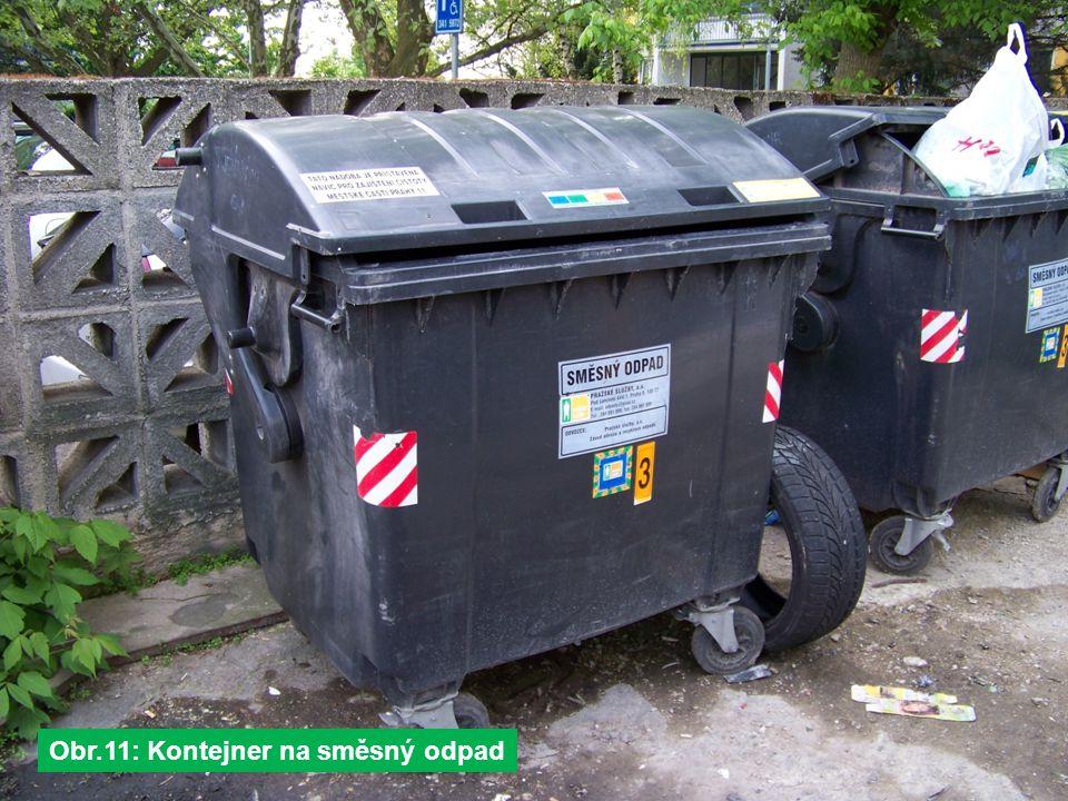 Obr.11: Kontejner na směsný odpad