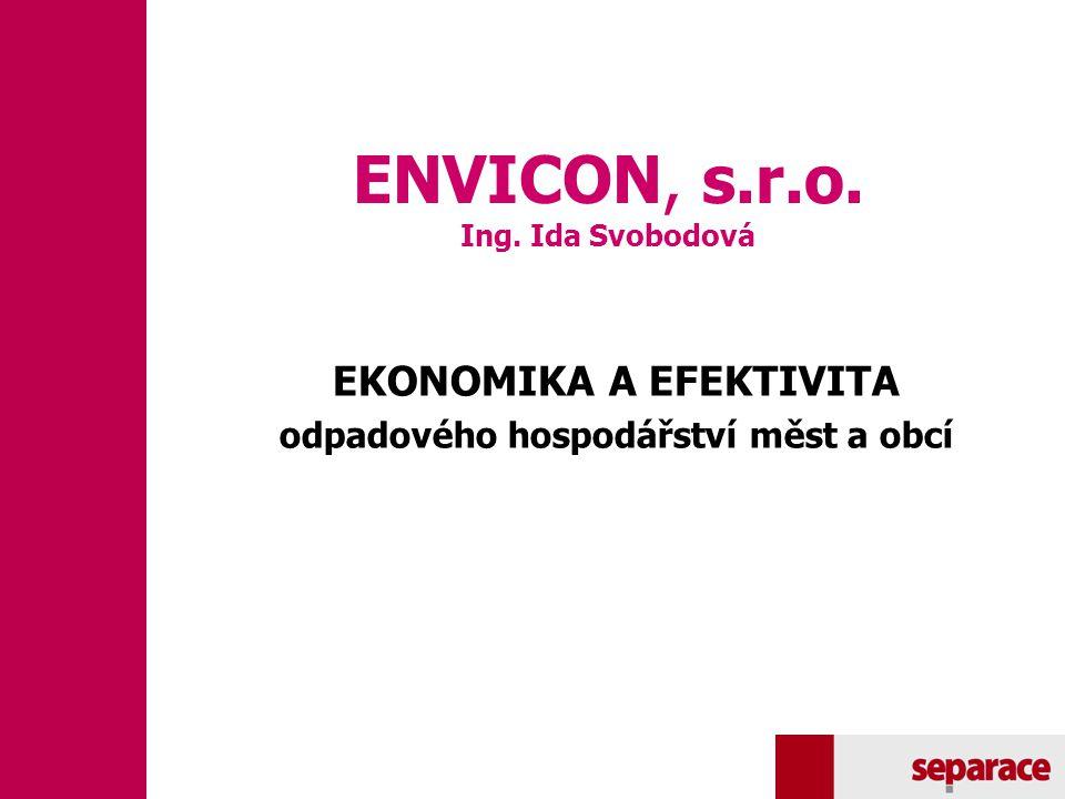 ENVICON, s.r.o. Ing. Ida Svobodová