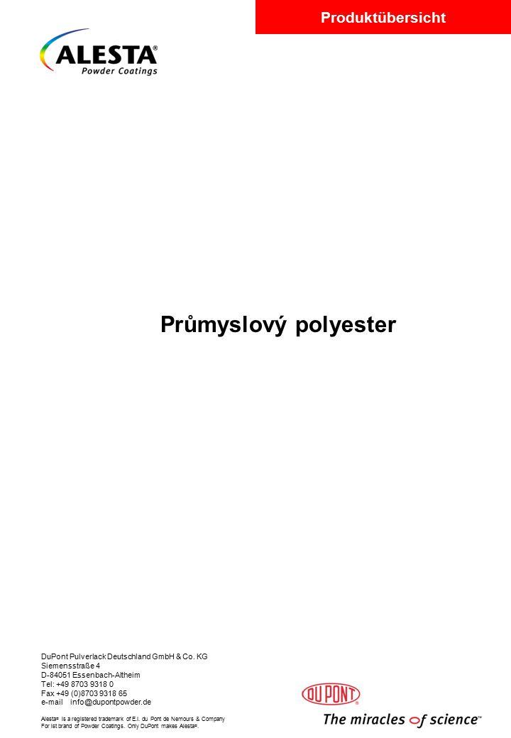 Průmyslový polyester