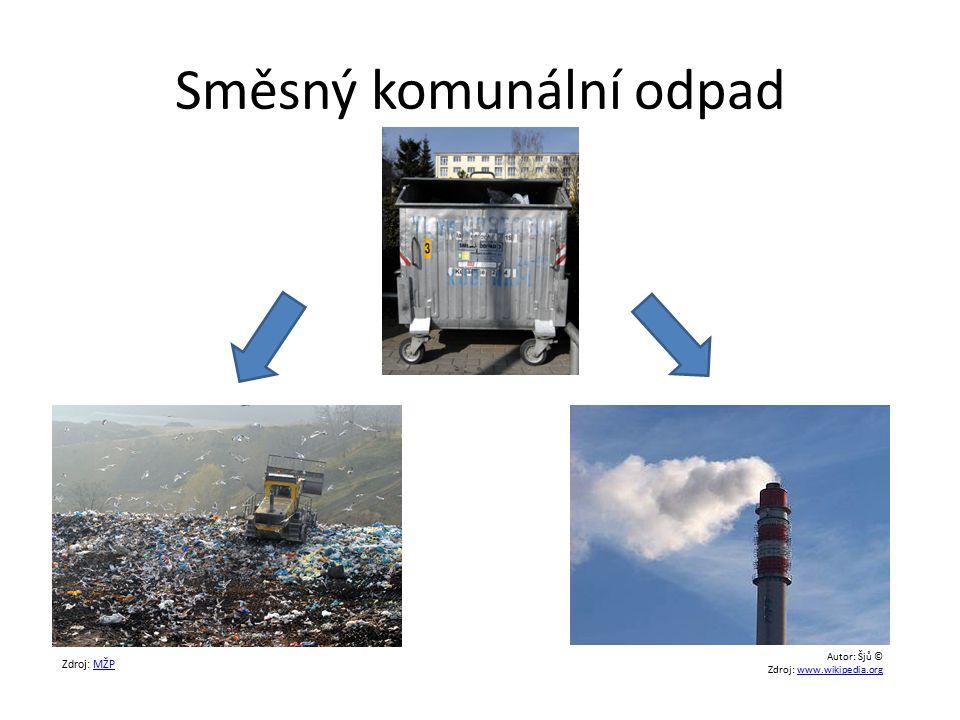 Směsný komunální odpad