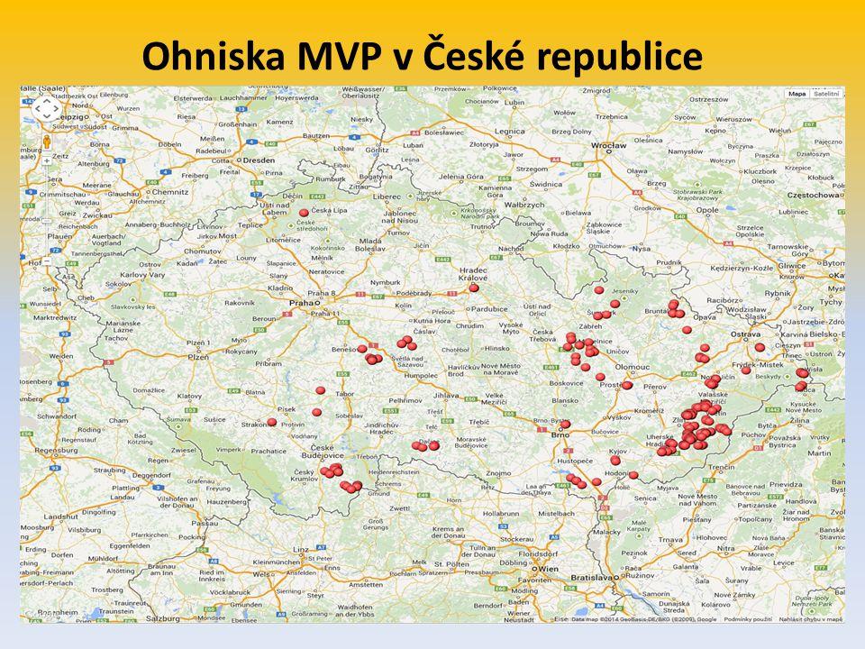 Ohniska MVP v České republice