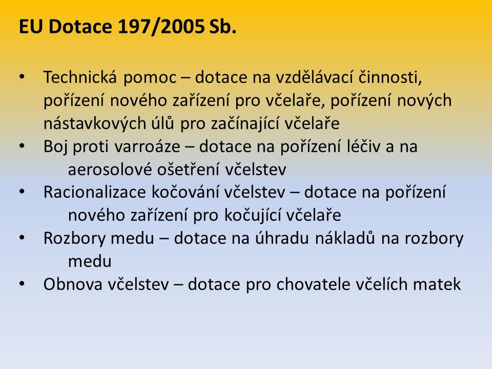EU Dotace 197/2005 Sb.