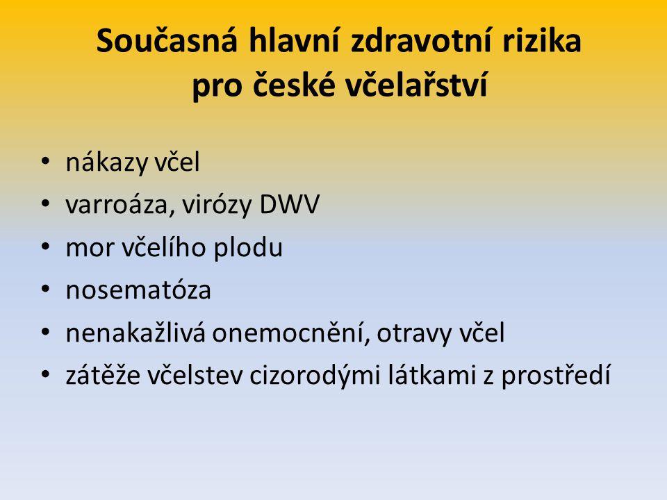 Současná hlavní zdravotní rizika pro české včelařství
