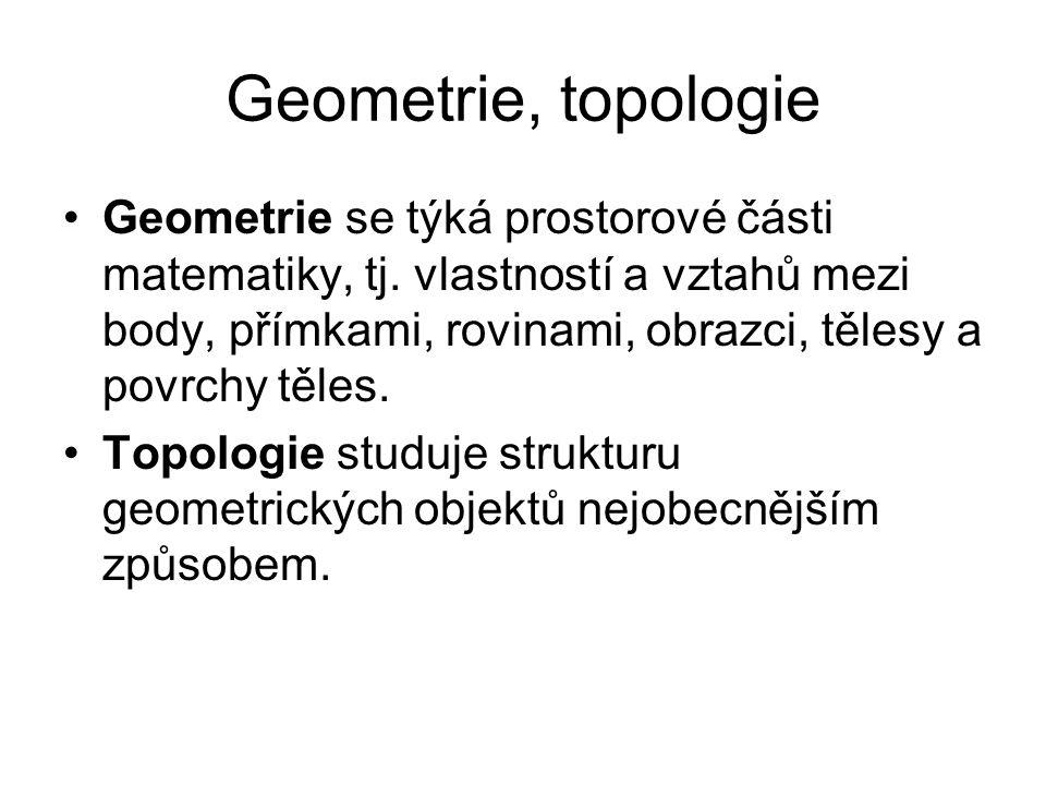 Geometrie, topologie