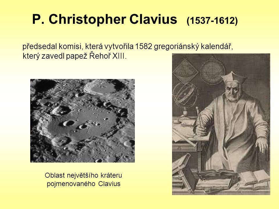 P. Christopher Clavius (1537-1612)