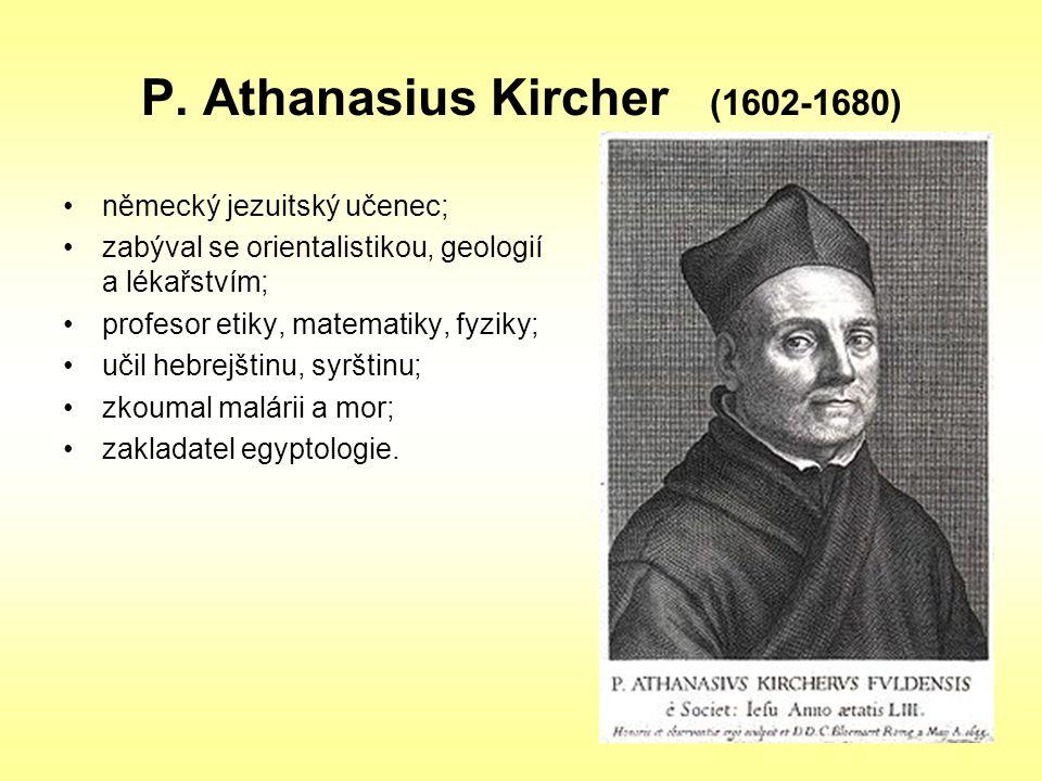P. Athanasius Kircher (1602-1680)