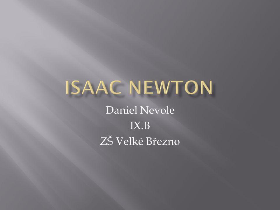 Daniel Nevole IX.B ZŠ Velké Březno