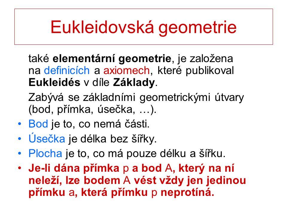 Eukleidovská geometrie