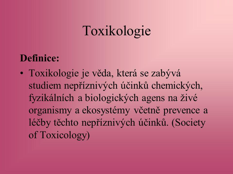 Toxikologie Definice: