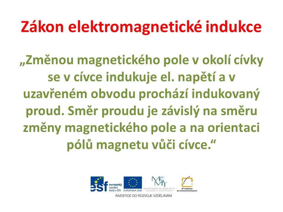 Zákon elektromagnetické indukce