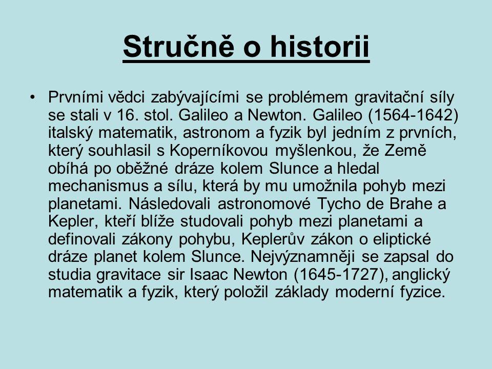Stručně o historii