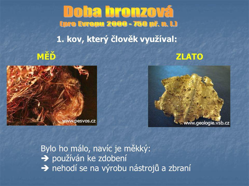 Doba bronzová (pro Evropu 2000 - 750 př. n. l.)
