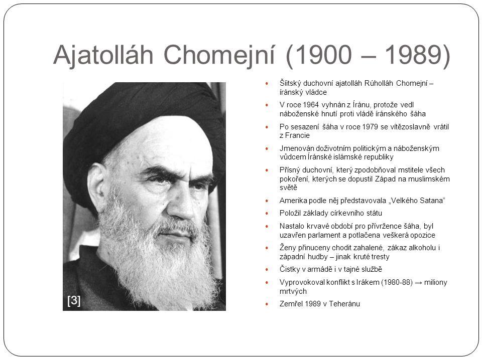 Ajatolláh Chomejní (1900 – 1989)