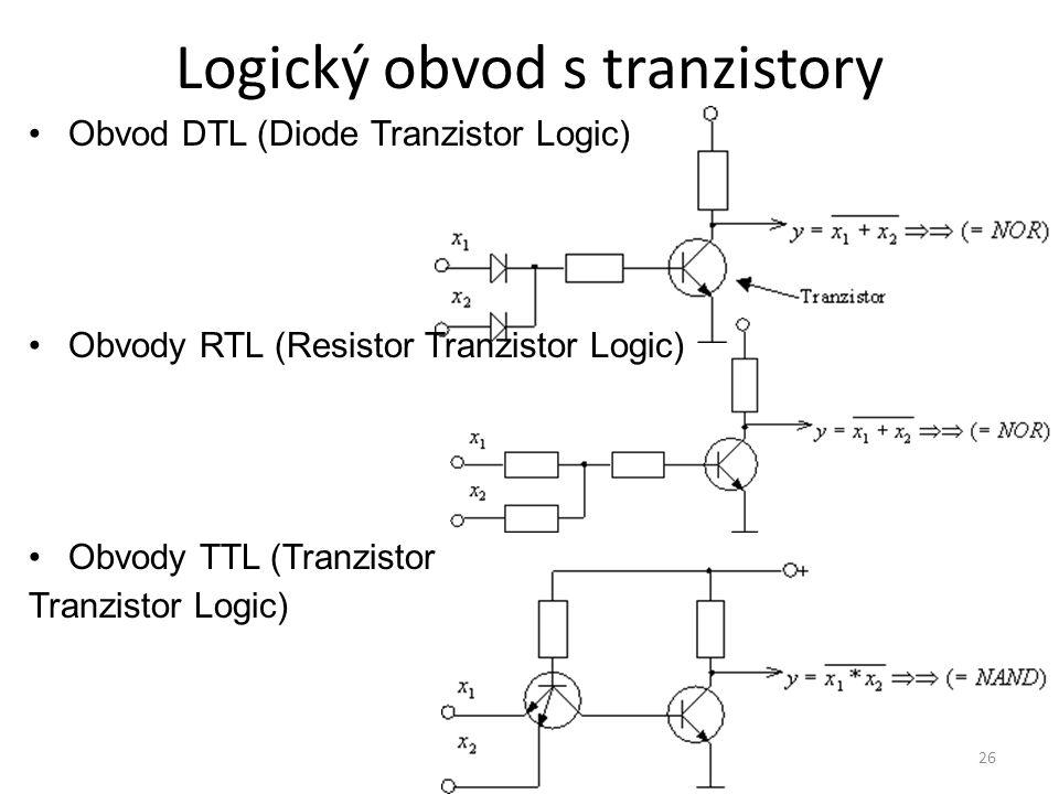 Logický obvod s tranzistory