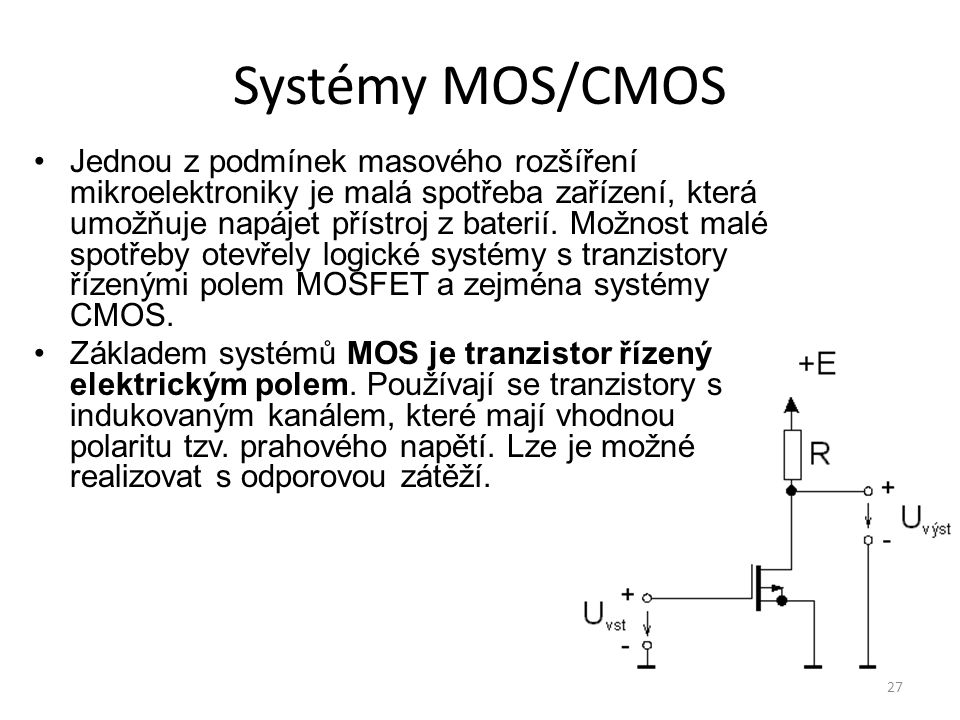 Systémy MOS/CMOS
