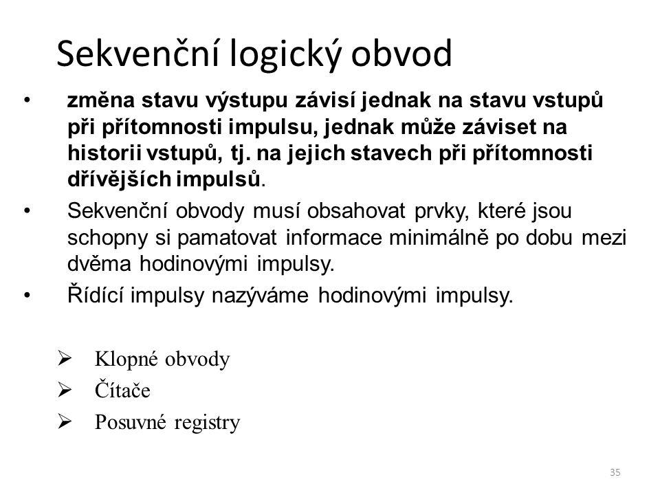 Sekvenční logický obvod