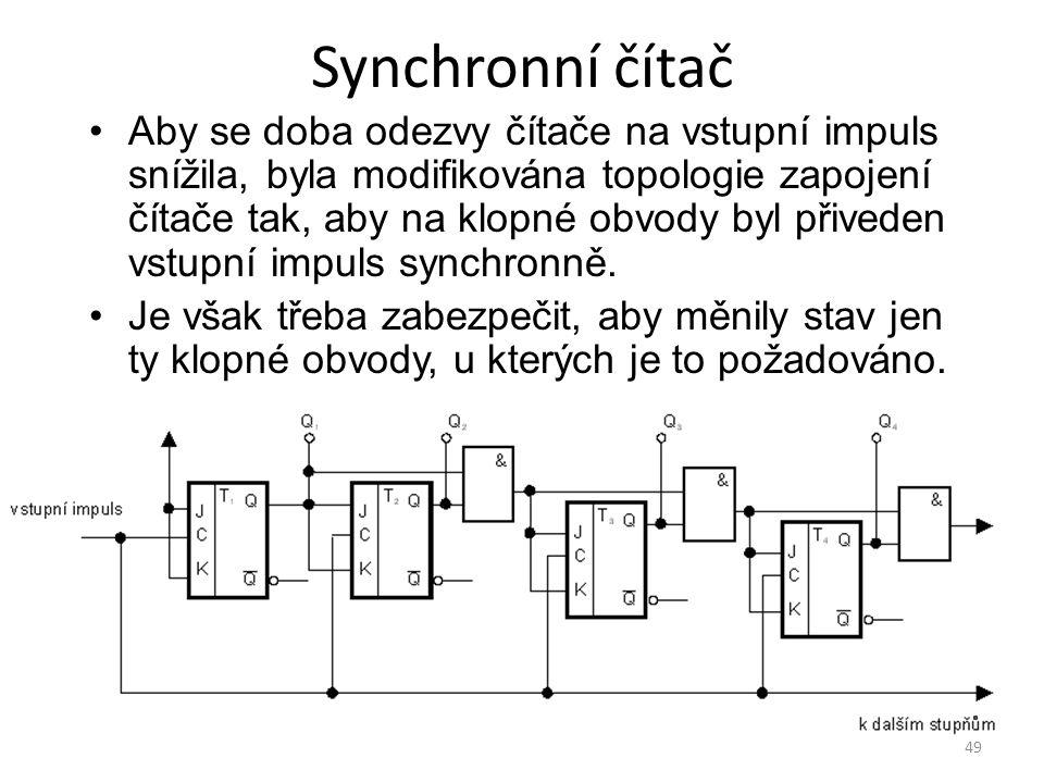 Synchronní čítač