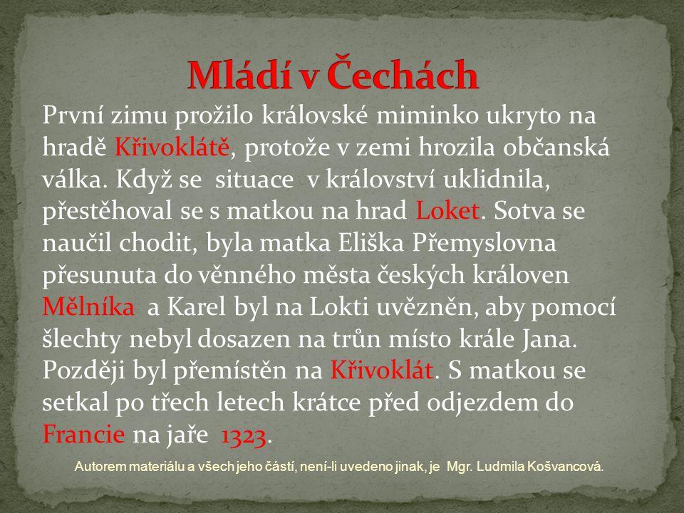 Mládí v Čechách