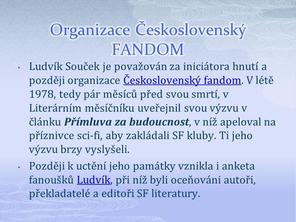Organizace Československý FANDOM