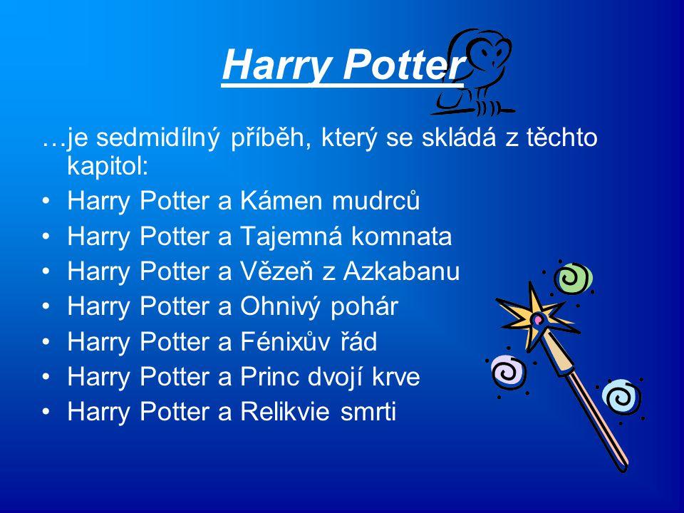 Harry Potter …je sedmidílný příběh, který se skládá z těchto kapitol: