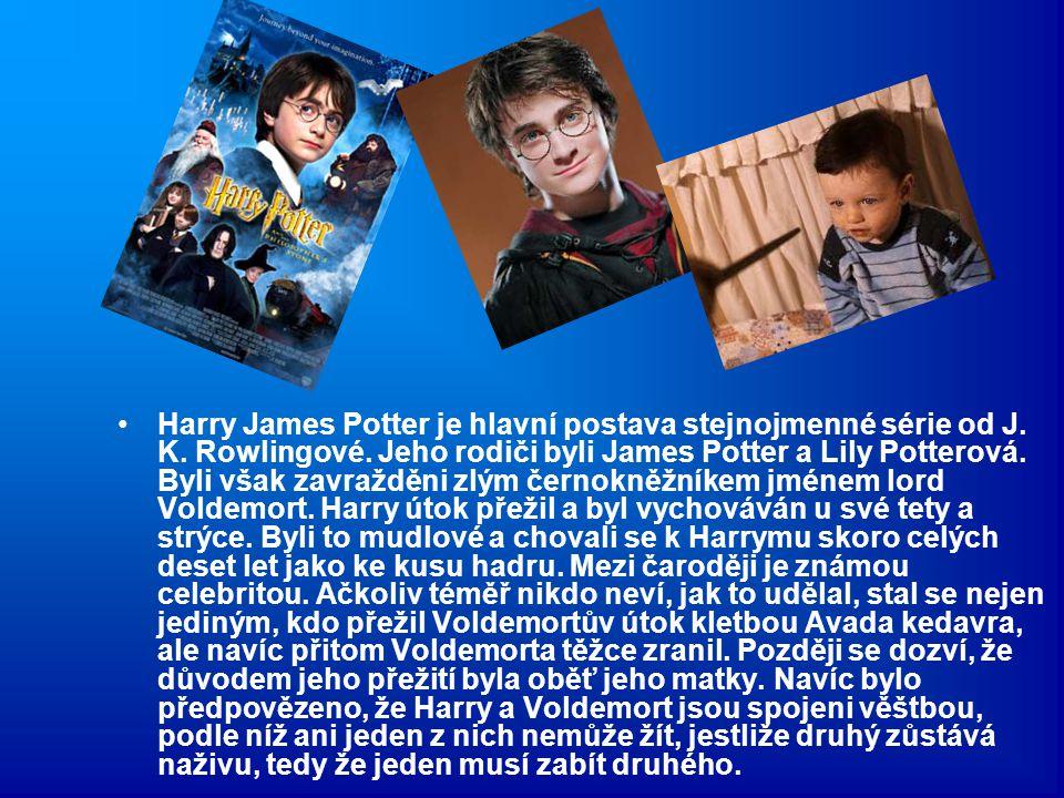 Harry James Potter je hlavní postava stejnojmenné série od J. K