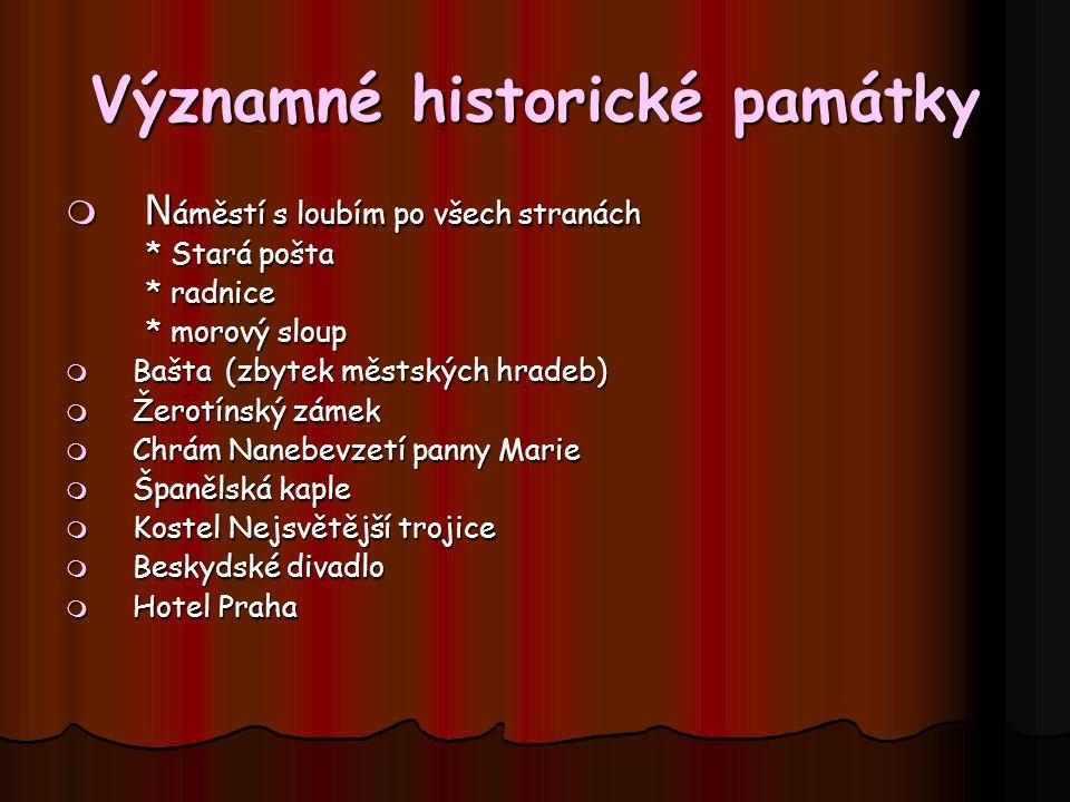Významné historické památky