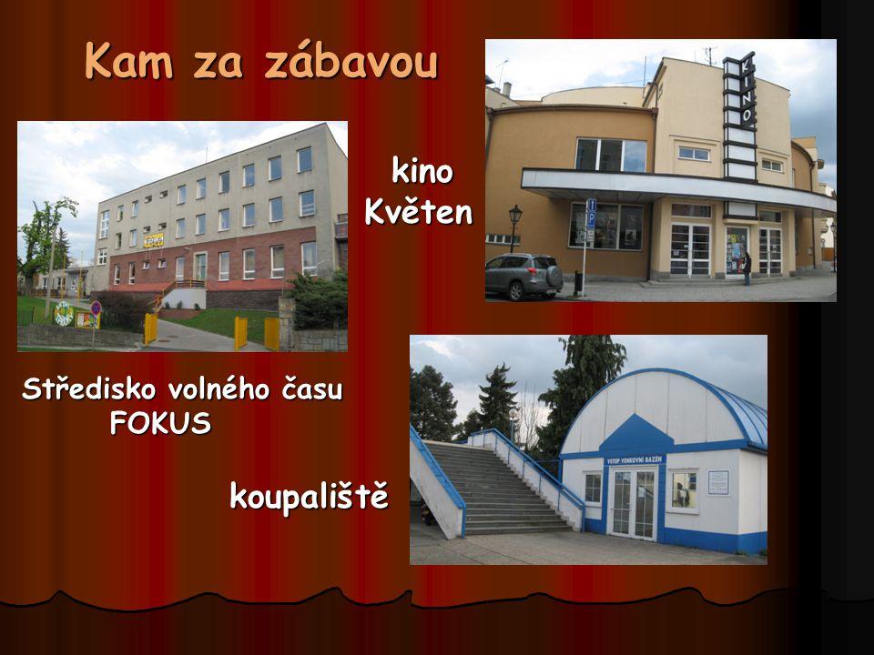 Kam za zábavou kino Květen Středisko volného času FOKUS koupaliště